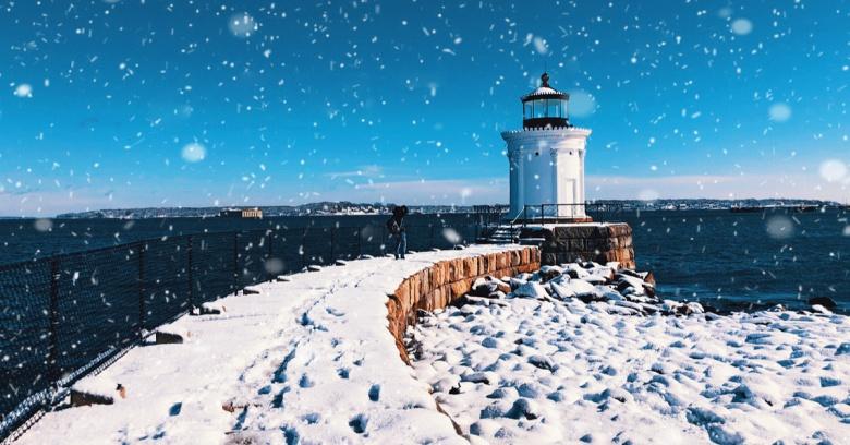 Maine winter driving