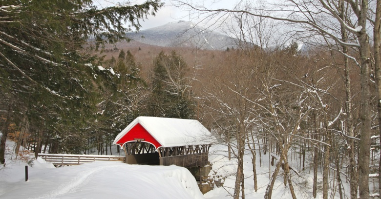 New Hampshire winter driving