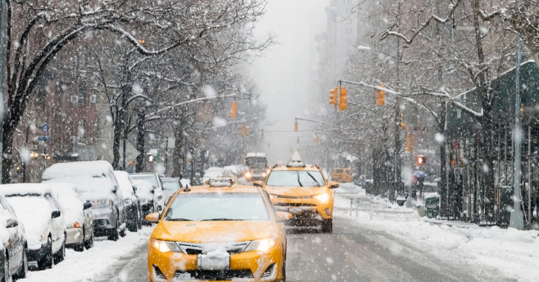 New York winter driving