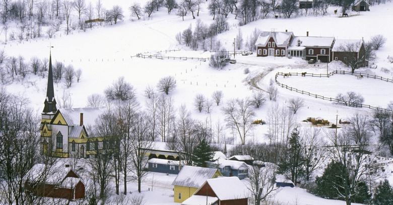 Vermont winter driving