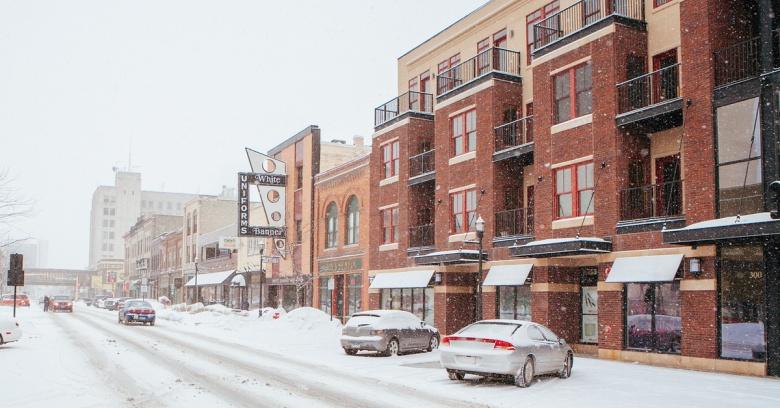 North Dakota winter driving