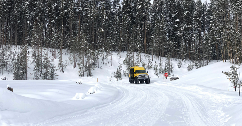 Montana winter driving
