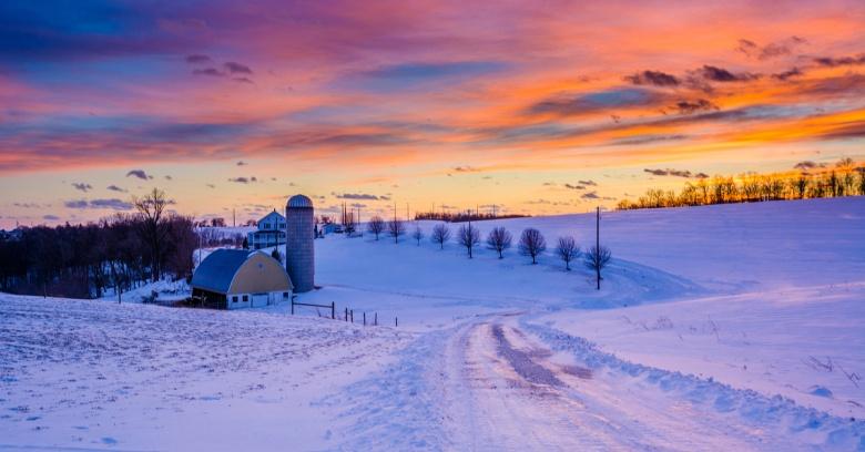 Pennsylvania winter driving