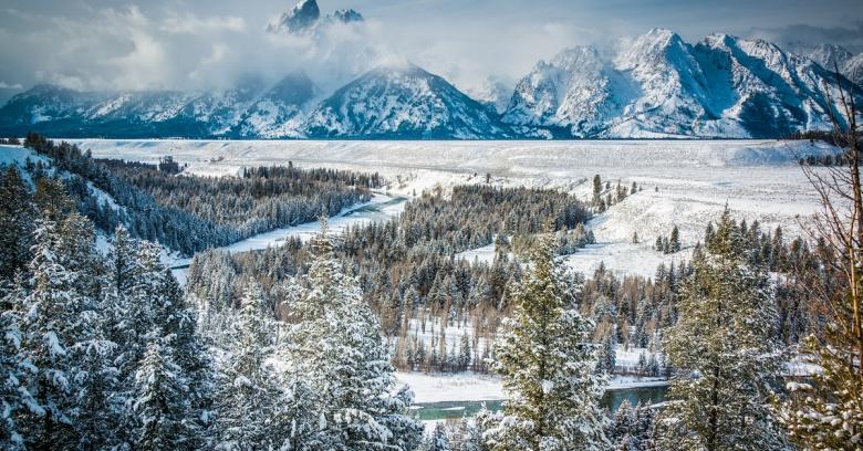 Wyoming winter driving