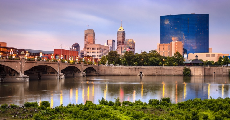 Best Big Cities to Make a Living - Indianapolis, Indiana