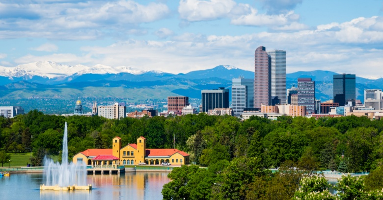 Best Big Cities to Make a Living - Denver, Colorado