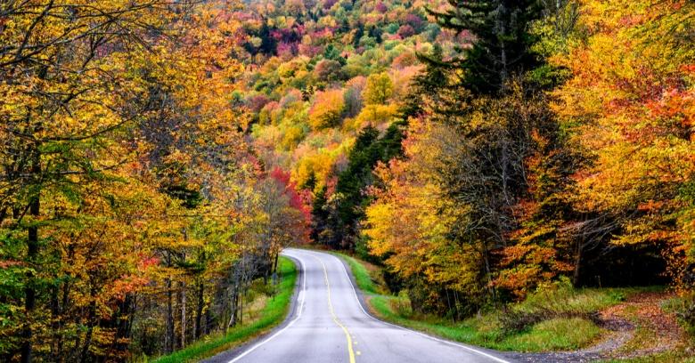 Fall in West Virginia.