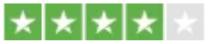 Trustpilot 4 stars