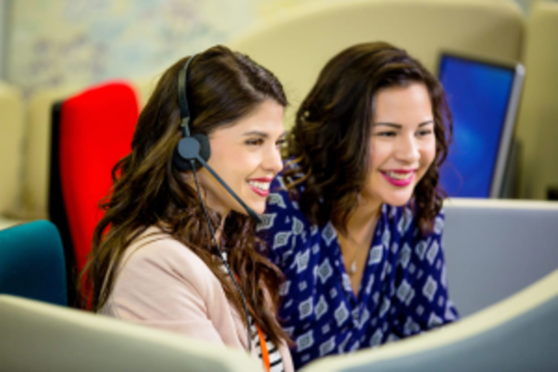 two Moneypenny Virtual Receptionist