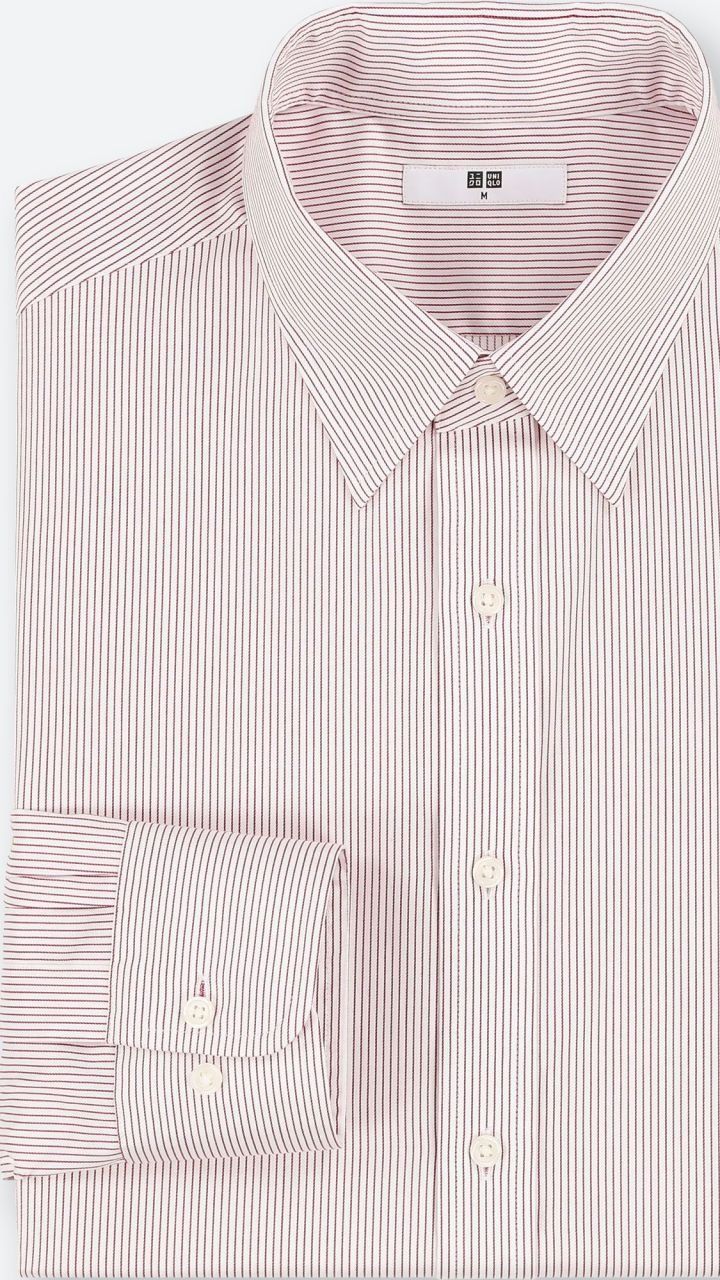 5cc6e4828a Men Easy Care Striped Regular-Fit Long-Sleeve Shirt (Online Exclusive)