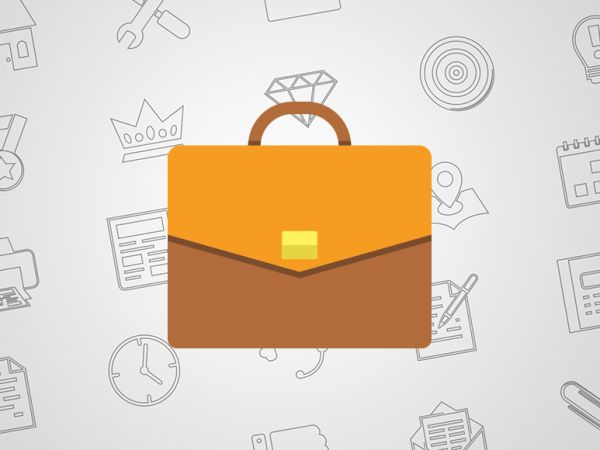 Briefcase Icon Png | Icono de maletin Png