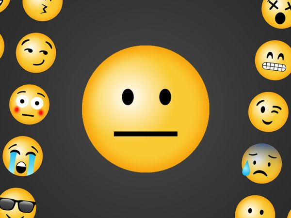 emoji poker face