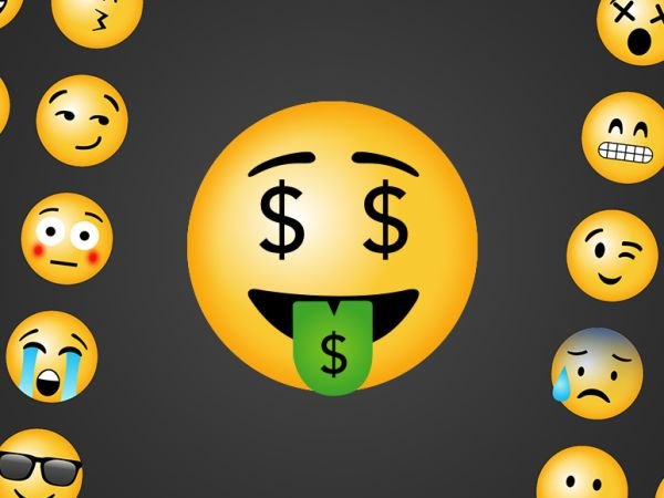 emoji adinerado - emoji show me the money