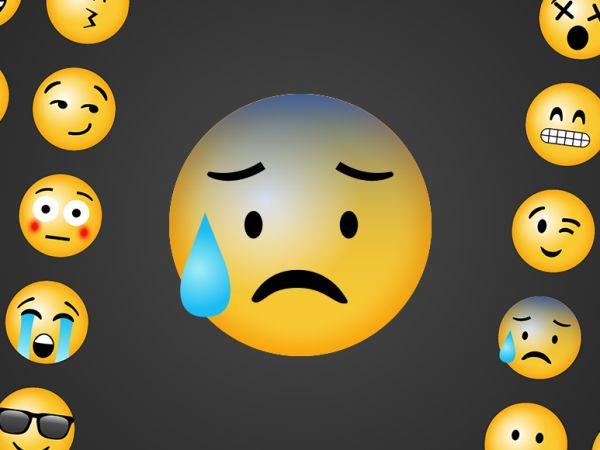 emoji asustado - emoji scared