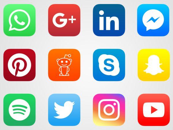 Vectores Gratis Redes Sociales | Iconos para Aplicaciones Gratis