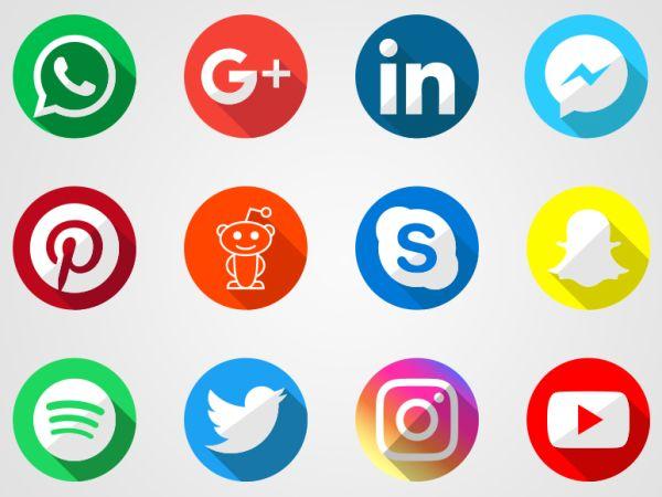 Logos Redes Sociales Vector | Descargar Iconos Gratis