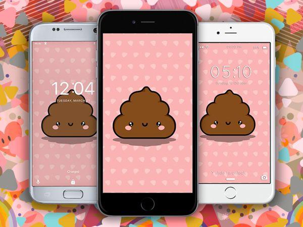 Fondos de Pantalla de Emojis | Caca Emoji