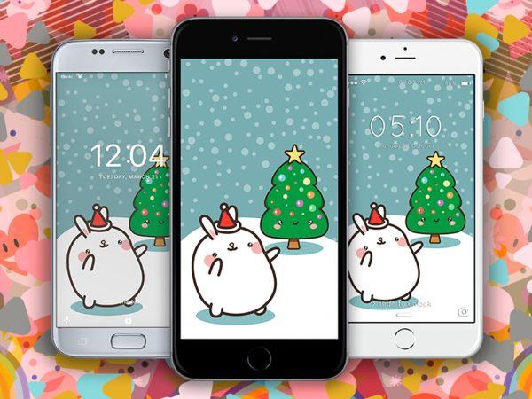 Imagenes de Navidad Kawaii | Fondos Navideños