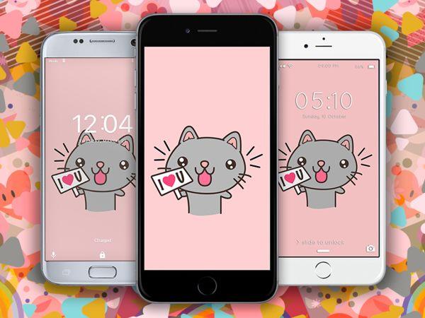 Dibujos de Gatos Kawaii | Imagenes Kawaii de Amor