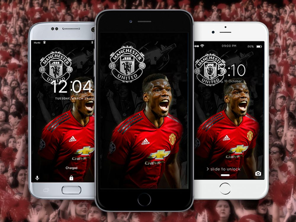 Pogba Wallpaper Manchester United Wallpaper Monkiconcom