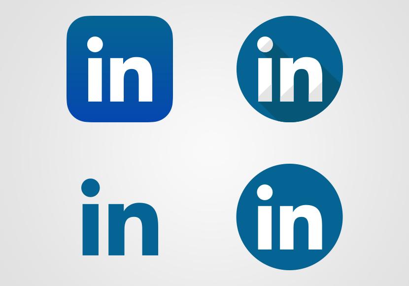 Linkedin Logo Vector Linkedin Icon Vector Monkicon Com