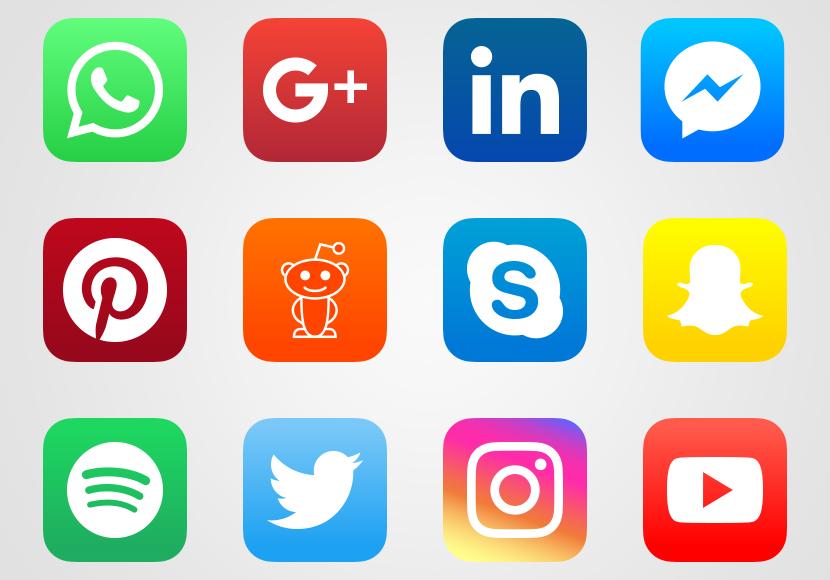 Vectores Gratis Redes Sociales Iconos Para Aplicaciones Gratis