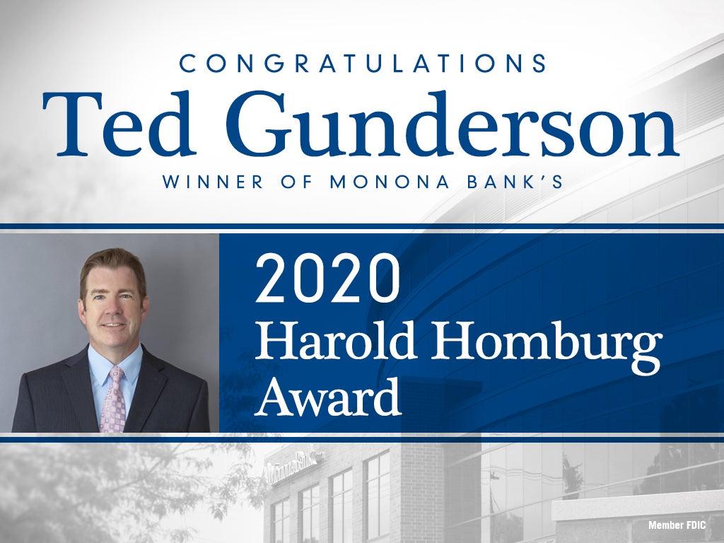 2020 Harold Homburg Award