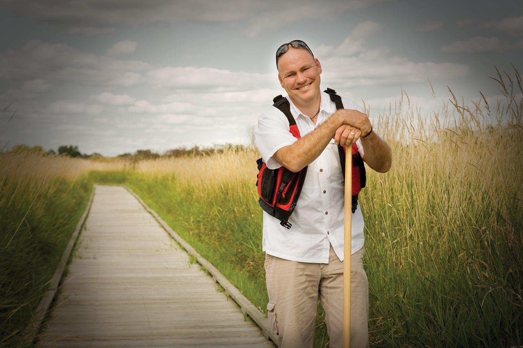 Rutabaga Paddlesport owner Darren Bush
