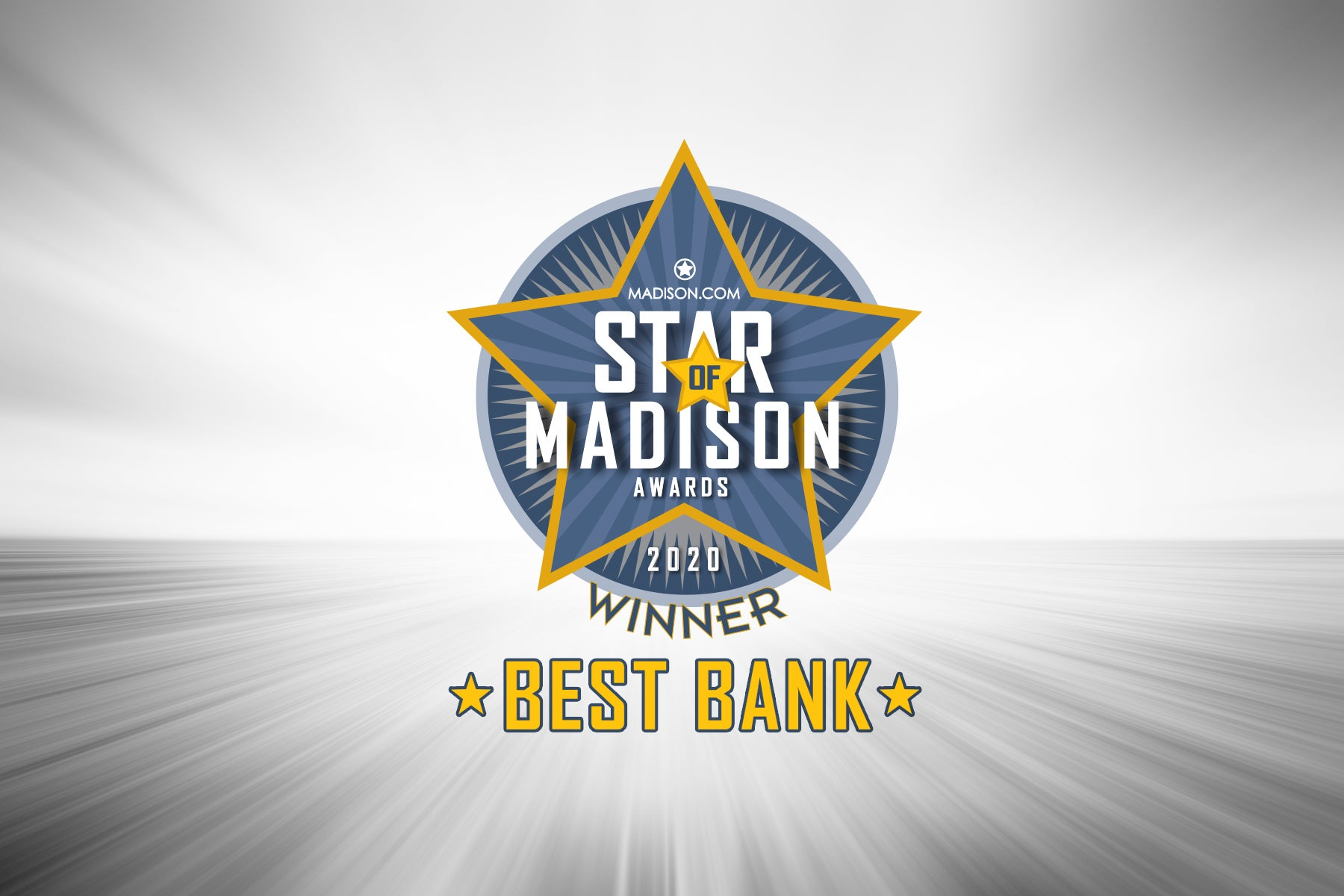 2020 Best Bank in Madison