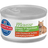 Hills Science Plan Kitten Gentle Mousse