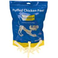 Pure Dog Puffed Chicken Feet 250g