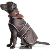 Ancol Muddy Paws Stormguard Chocolate Dog Coat