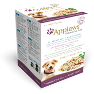 Applaws Finest Collection Multipack Pouches Adult Dog Food 100g x 5