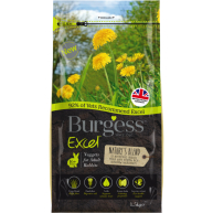 Burgess Excel Natures Blend Rabbit Food 1.5kg