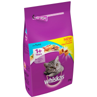 Whiskas Dry 1+ Tuna Adult Cat Food