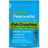 Feelwells Crunchies Fish Dog Treats 90g