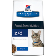 Hills Prescription Diet ZD Food Sensitivities Dry Cat Food