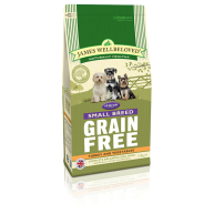 James Wellbeloved Grain Free Turkey & Vegetable Small Breed Senior Dog Food 1.5kg