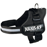 Julius-K9 Powerharness Black Dog Harness