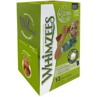Whimzees Variety Box Dog Chew Treats Large - 12 Pack