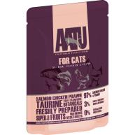 AATU For Cats Salmon, Chicken & Prawn Wet Pouches