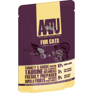 AATU For Cats Turkey & Goose Wet Pouches 85g x 16