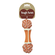 Rosewood Tough Twist Dental Ball Dog Toy