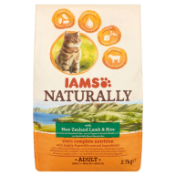 Iams Naturally New Zealand Lamb & Rice Adult Cat Food