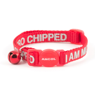 Ancol Microchipped Nylon Cat Collar