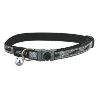 Rogz Night Cat Black Cat Collar