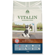 Vitalin Natural Chicken Dry Kitten Food