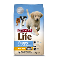 Skinners Life Puppy Chicken Dog Food 2.5kg