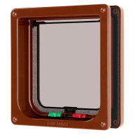 Cat Mate 4 Way Locking Flap & Liner Brown