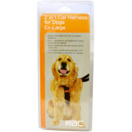 RAC Travel 2 In 1 Car Dog Harness